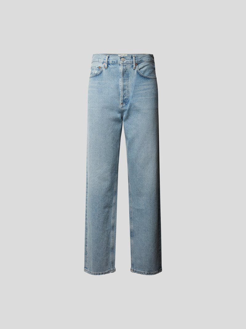 AGOLDE Mom Fit Jeans Blau - 1