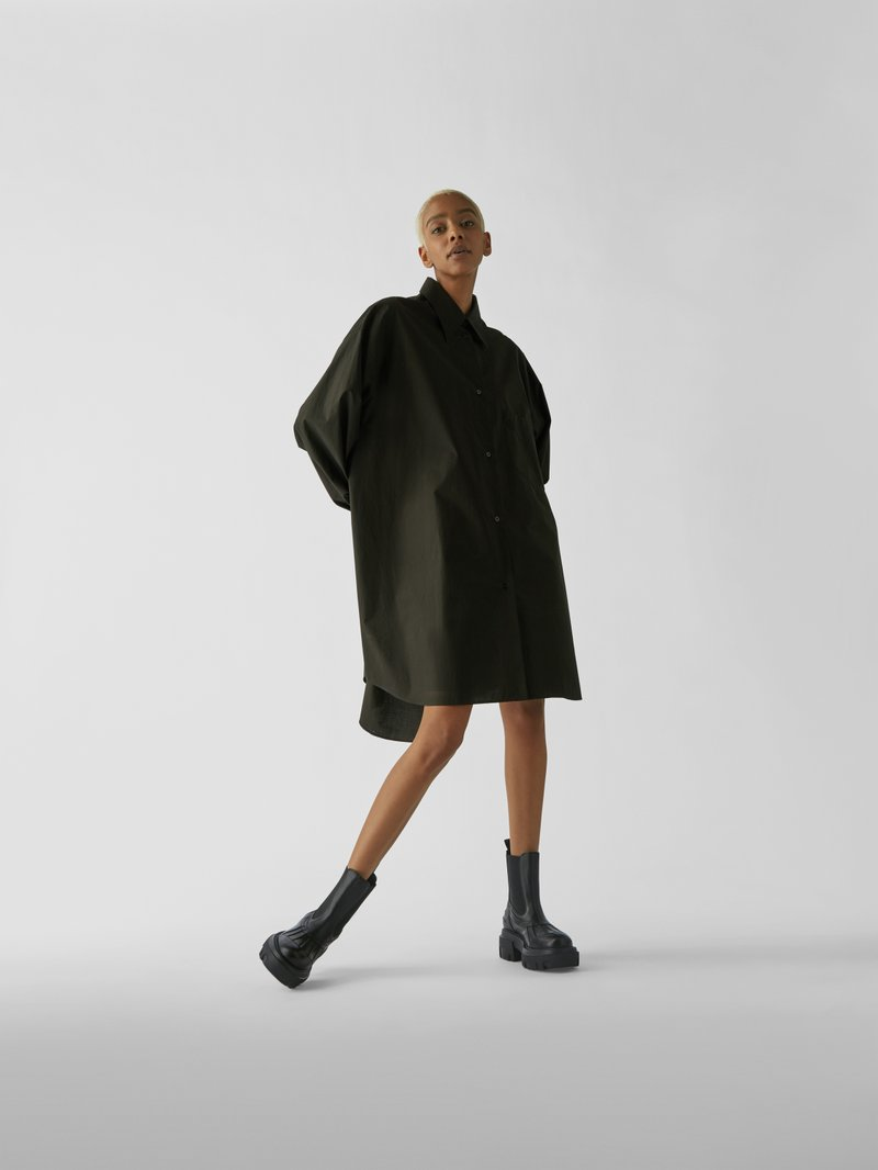 MSGM Chelsea Boots mit Plateausohle in Schwarz - 1