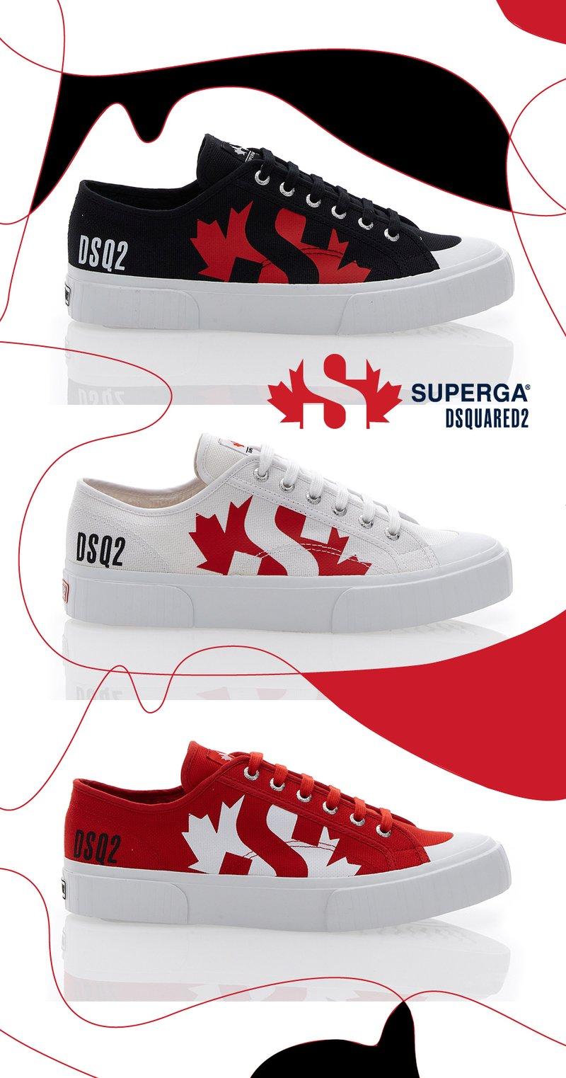 Superga x Dsquared2
